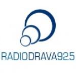 Logo da emissora Rádio Drava 92.5 FM
