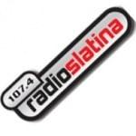 Logo da emissora Rádio Slatina 107.4 FM