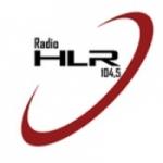 Logo da emissora Rádio HLR 104.5 FM
