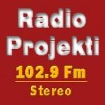 Logo da emissora Rádio Projekti 21 102.9 FM