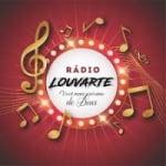 Logo da emissora Rádio Louvarte