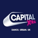 Logo da emissora Capital XTRA London FM 107.1