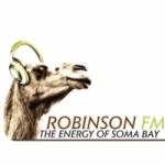 Logo da emissora Rádio Robinson 102.0 FM