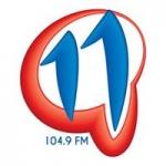 Logo da emissora Radio 11Q 104.9 FM