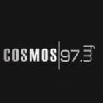 Logo da emissora Radio Cosmos 97.3 FM