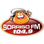 Logo da emissora Rádio Sorriso 104.9 FM