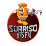 Logo da emissora Rádio Sorriso 87.5 FM