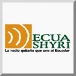 Logo da emissora Radio Ecuashyri 104.9 FM