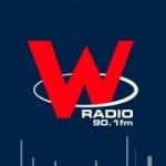 Logo da emissora W Radio 90.1 FM