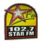 Logo da emissora Rádio Star 102.7 FM
