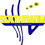 Logo da emissora Rádio Som Mania