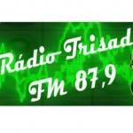 Logo da emissora Rádio Trisad 87.9 FM