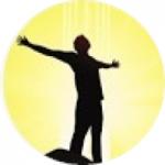Logo da emissora Rádio Vinha de Luz - Umbanda RJ