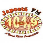 Logo da emissora Rádio Japoatã 104.9 FM
