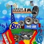 Logo da emissora Rádio Areia Branca 87.9 FM