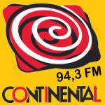 Logo da emissora Rádio Continental 94.3 FM