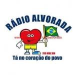 Logo da emissora Rádio Alvorada 780 AM