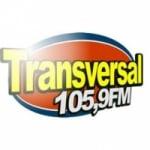 Logo da emissora Rádio Transversal 105.9 FM