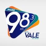 Logo da emissora Rádio Vale 98.3 FM