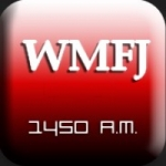 Logo da emissora Radio WMFJ 1450 AM