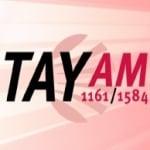 Logo da emissora Rádio Tay 1161 AM
