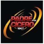 Logo da emissora Rádio Padre Cícero 104.7 FM