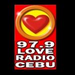 Logo da emissora Rádio Love Cebu 97.9 FM
