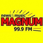 Logo da emissora Rádio Magnum 99.9 FM