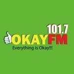 Logo da emissora Radio Okay 101.3 FM