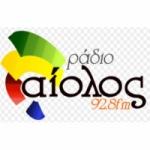 Logo da emissora Rádio Aelos 92.8 FM