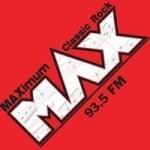 Logo da emissora WMXQ Max 93.5 FM