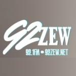 Logo da emissora WZEW Blues 92.1 FM