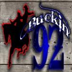 Logo da emissora KHAT 92 FM 1210 AM Buckin