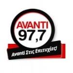 Logo da emissora Rádio Avanti 97.7 FM