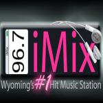 Logo da emissora KIXM 92.3 FM IMix