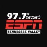 Logo da emissora WZZN 97.7 FM The Zone
