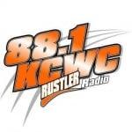 Logo da emissora KCWC 88.1 FM Rustler