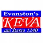 Logo da emissora KEVA 1240 AM