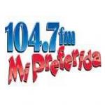 Logo da emissora KNIV 104.7FM Mi Preferida