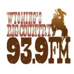 Logo da emissora KTAK 93.9 FM