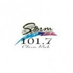 Logo da emissora WMXN 101.7 FM The Storm