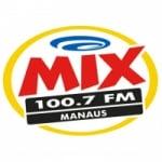 Logo da emissora Rádio Mix 100.7 FM