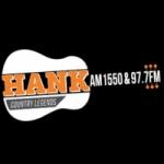 Logo da emissora WHIT 1550 AM Hank on