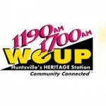 Logo da emissora WEUP 1700 AM