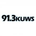 Logo da emissora KUWS 91.3 FM