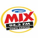 Logo da emissora Rádio Mix Norte Gaúcho 94.3 FM