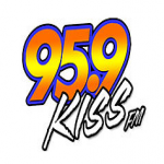 Logo da emissora WKSZ 94.7 FM Kiss
