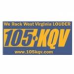 Logo da emissora WKQV 105.5 FM KQV