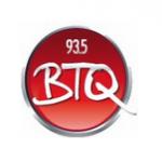 Logo da emissora WBTQ 93.5 FM BTQ