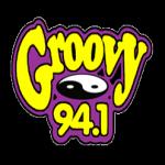 Logo da emissora WAXS 94.1 FM Groovy